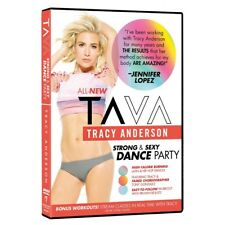 Tracy Anderson: Ta Va Strong & Sexy Dance Party Fitness Exercise Video DVD Wides