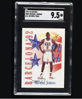 1991-92 Skybox #534 Michael Jordan U.S. Olympic Team SGC 9.5