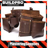 Buildpro Apron Style Carpenters Belt Leather Nail Bag LWTMAB