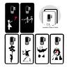 Banksy Pare-Choc Étui pour Samsung Galaxy S6 S7 Bord S8 S9 Plus Housse