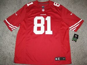 Anquan Boldin San Francisco 49ers Red 2XL Mens Nike Limited Jersey