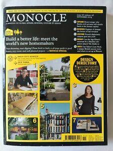 MONOCLE Magazine - Issue 78 . volume 8 . 2014
