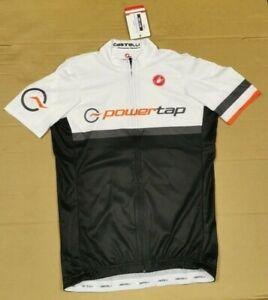 Castelli/Powertap Short Sleeve Mens Summer Cycling Jersey, Size Small.