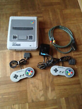 Super Nintendo SNES Konsole Switchless, Stereo Composite Mod + 49 Spiele
