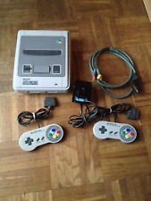 Super Nintendo SNES Konsole Switchless, Stereo Composite Mod + Spiele