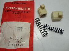 Homelite A-97822 String Trimmer Slide & Spring Kit ST-160, ST-180