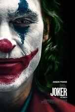 """Joker Movie Poster 2019 DC Comic's and Warner Bros 11""""x17""""Joker Joaquin Phoenix"""