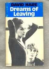 Dreams of Leaving by David Hare 1980 UK Import Teleplay Script Bill Nighy Cover
