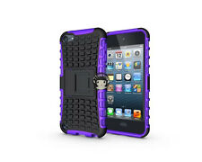 Heavy Duty Armor Shockproof Kickstand Case Skin Cover iPod Touch 5th & 6th Gen
