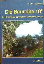 Die Baureihe 18.3 STORIA TRENI DEI PAESI Pacific STEFFEN Lüdecke ek-verlag Hi2 Å