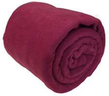 Burgundy Bed Throw in Decorative Throws for sale | eBay