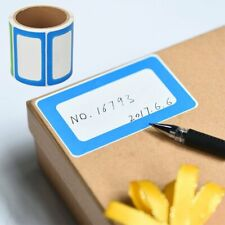 Blank Name Tags Roll of 200 Stickers Organizing Labels School Office Adhesive US