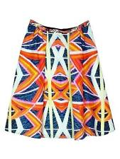 NEW Peter Pilotto silk orange skirt