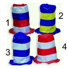 Filzzylinder mit Pailletten viele Farben WM EM Fan Zylinder Hut 123819713