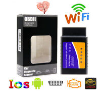 ELM327 WiFi Bluetooth OBD2 OBDII Car Diagnostic Scanner Code Reader Tool