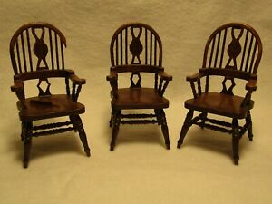 1 10 Dollhouse Chairs For Sale Ebay