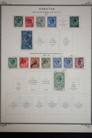 Gibraltar Early Stamp Collection