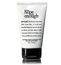 PHILOSOPHY WHEN HOPE IS NOT ENOUGH SMOOTHING VITAMIN C NECK CREAM 4OZ
