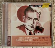 Mahler: Symphony No. 6/Kirill Kondrashin 2011 Hanssler Germany SEALED
