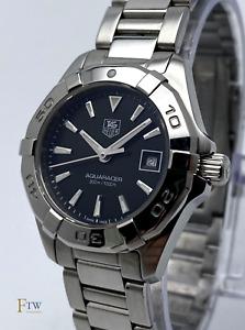 Tag Heuer Aquaracer Ladies Watch Black Dial WAY1410 27mm