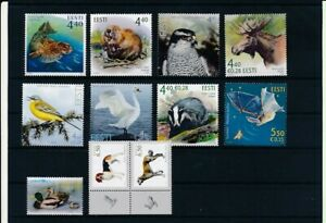 D192610 Estonia Nice selection of MNH stamps