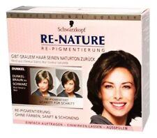 Schwarzkopf Re-Nature Damen Re-Pigmentierung Dunkel gegen Graue Haare