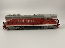 Tyco HO Train Burlington Route SD-24 Powered Diesel Locomotive #502
