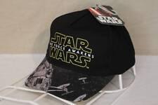 NEW Boys Mens Baseball Cap Star Wars The Force Awakens Black Adjustable Hat OSFM