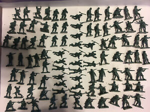 AIRFIX 01705 WWII German Infantry 105 Plastic toy solders loose 1:72 Scale