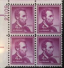 New ListingExtremely Rare United States Superb Abraham Lincoln 4 Cent Purple Stamps