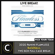 2020 Caja de béisbol 2 PANINI FLAWLESS (Completo Funda) romper #A1019 - Elige Tu Equipo