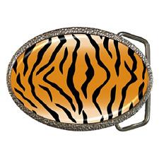 Imprimé Tigre Peau Boucle de ceinture-Grand Cadeau