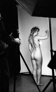 35mm B/W Negative + Copyrights Sexy Risque Pin Up Glamour Model  SS11