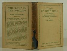 A.A. MILNE Toad of Toad Hall FIRST EDITION