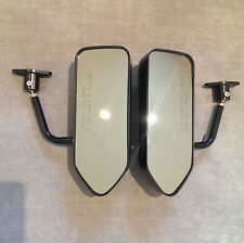 F1 style ABS racing side FENDER mirrors MUSTANG CAMARO CORVETTE VIPER SRT4 FOCUS