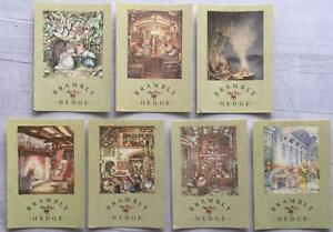 Brambly Hedge Postcards x7 (illustrated by Jill Barklem)