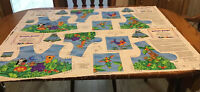 Two Jumpin Jungle Fabric GIRLS JUMPER KIT Bodice Panel  ONLY Sizes 2 -8