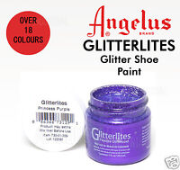 ANGELUS GLITTER SHOE PAINT - RE COLOURING LEATHER & SYNTHETIC - Boots Shoes