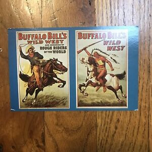 Vintage 1960's Ringling bros Barnum Baily Buffalo Bill wild wes postcard picture