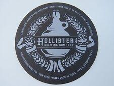 Beer Coaster <> HOLLISTER Brewing Co ~ Goleta, CALIFORNIA ~ Get A Growler To Go!