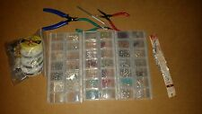 Bead Box Lot of Mixed Beads and tools