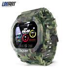 LOKMAT Smart Watch Heart Rate  Blood Pressure Monitor Multifunction Sport Y2L5