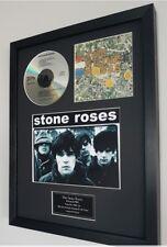 The Stone Roses Framed Original CD-Ltd Edt-Plaque-Certificate-Ian Brown-Oasis