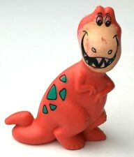 Flintstones Orange Tyrannosaurus Rex PVC Figure Fruity Pebbles Cereal Toy 1990