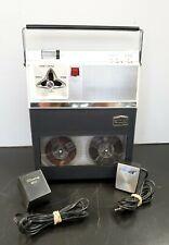 Vintage Craig Model 212 Portable Reel to Reel Tape recorder, Reels, Microphone!