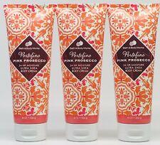 3 Bath & Body Works Portofino Pink Prosecco Ultra Shea Body Cream