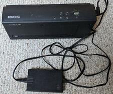 HP DeskJet 340 Inkjet Portable Printer and AC Adapter - RARE