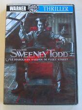 DVD SWEENEY TODD - Johnny DEPP- Tim BURTON - NEUF