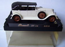 SOLIDO RENAULT 40 CV BLANC CREME 4059 1/43 IN BOX