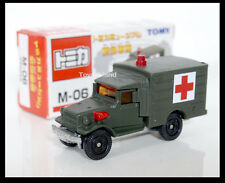 TOMICA M-06 MUSEUM TOYOTA TYPE HQ15V SDF Emergency Vehicles Ambulance TOMY 67